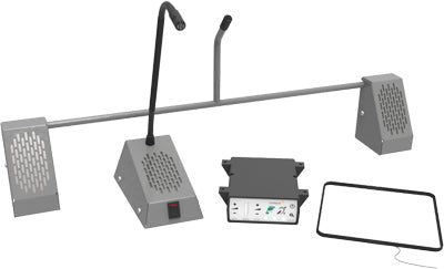 STS K001 Speech Transfer Window Intercom Components