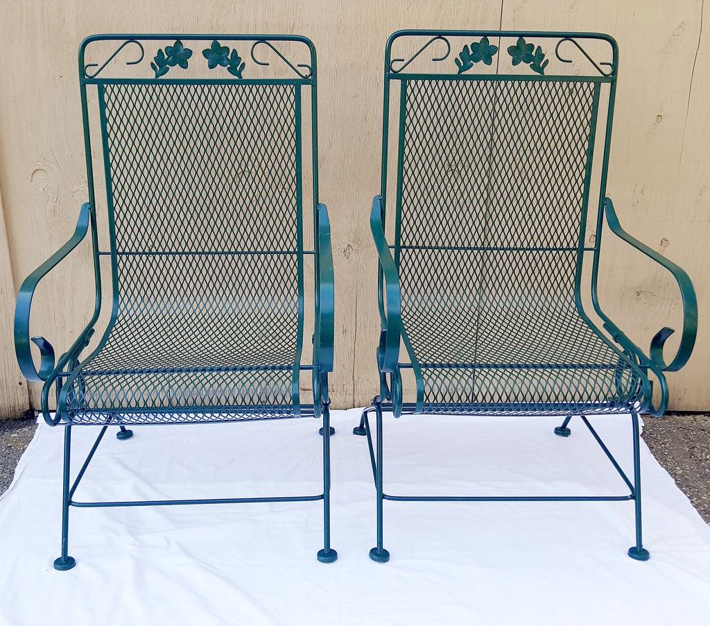 Metal Patio Rocking Chairs
