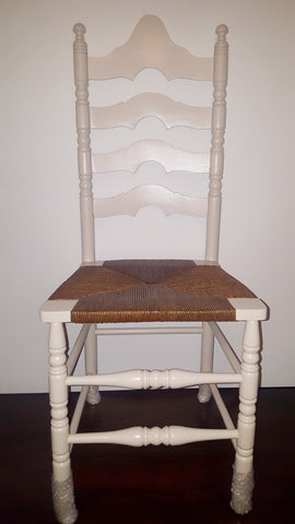 Ladderback Rush Chair