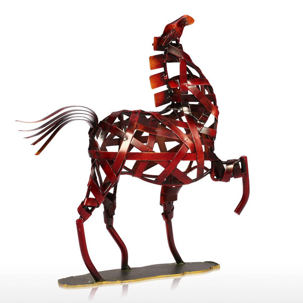 Horse in Weaving Iron