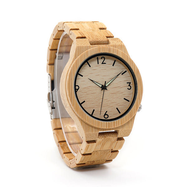 Classic Bamboo Wooden Watch