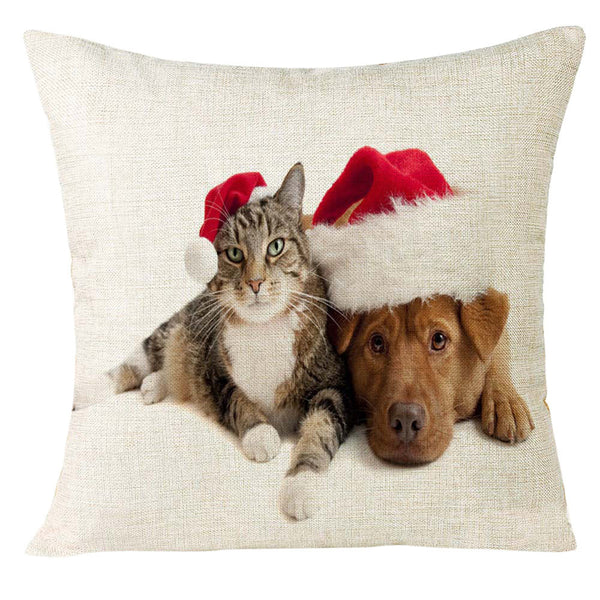 Xmas Cuties Pillow Cases (9 Styles)