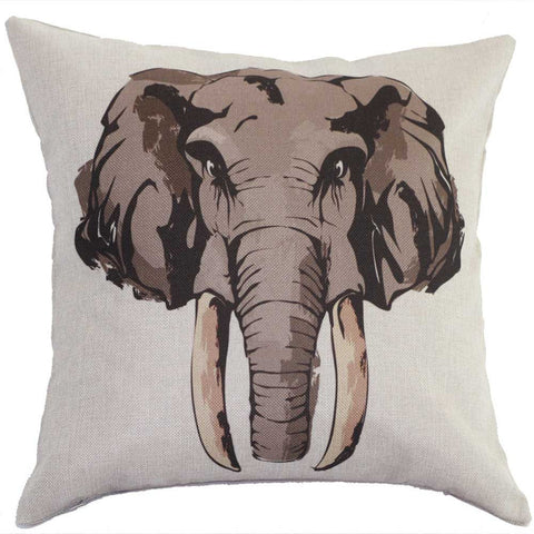 Decorative Elephant Pillow Case
