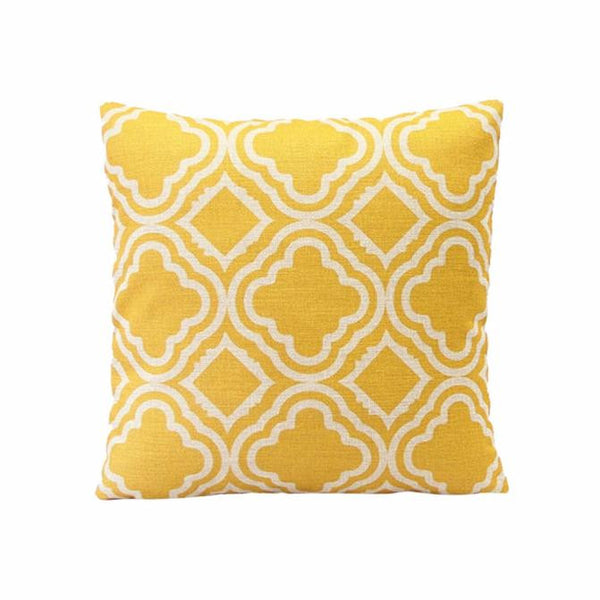 Argyle Pattern Pillow Case
