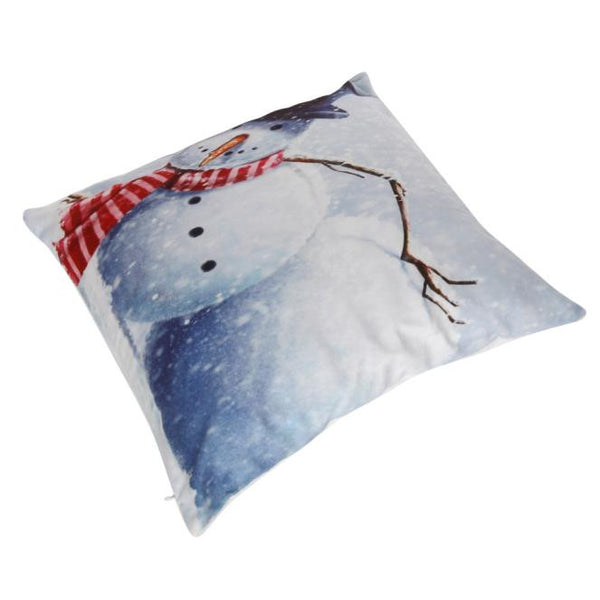 Snow Man Pillow Case