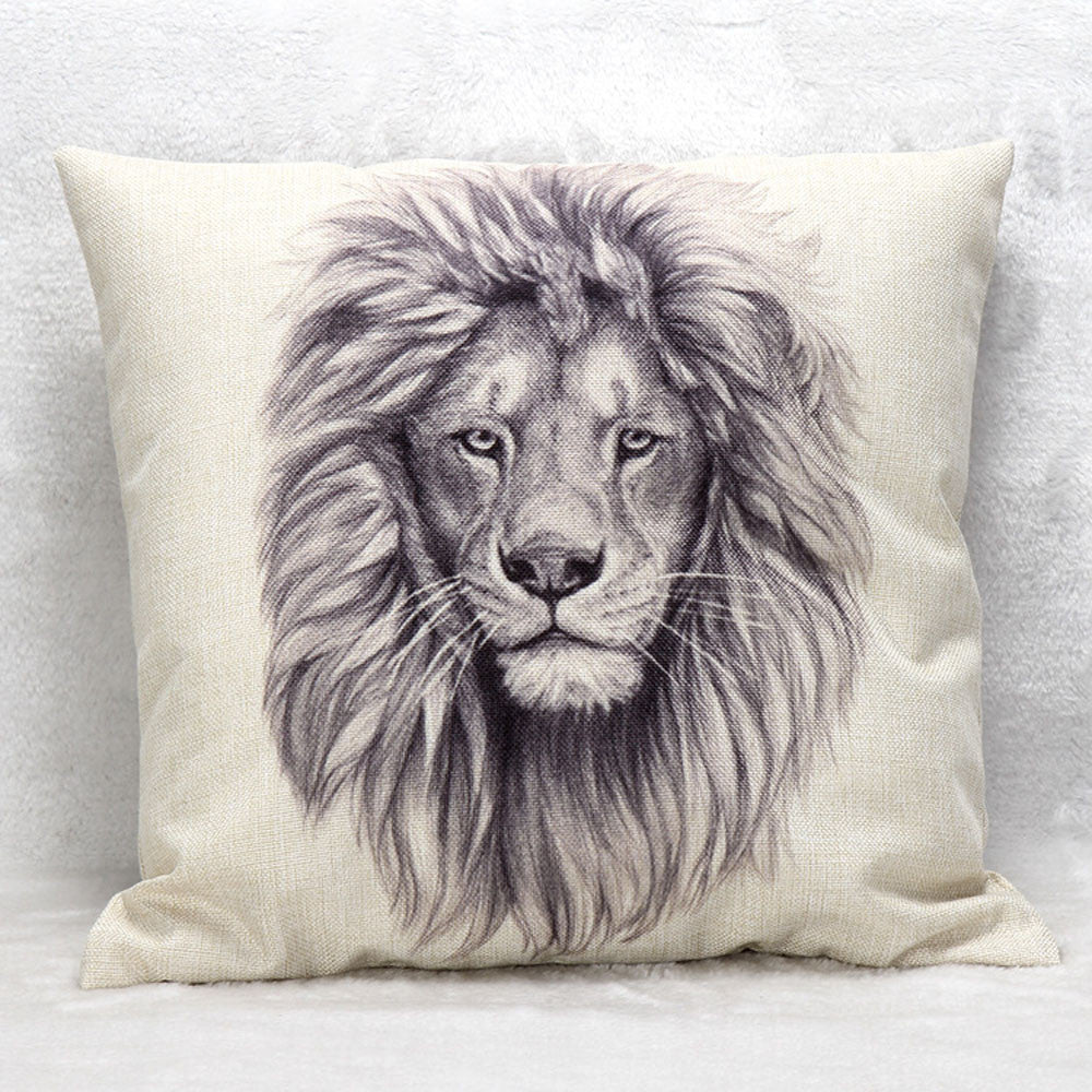 Powerful Lion Pillow Case