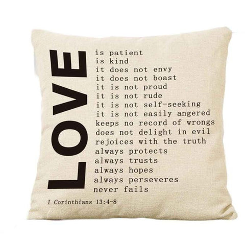 Love Pillow Cases (3 Styles)