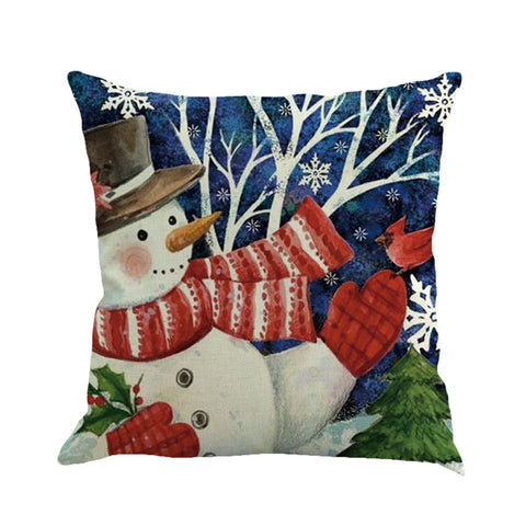 Christmas Prints Pillow Cases (8 Styles)