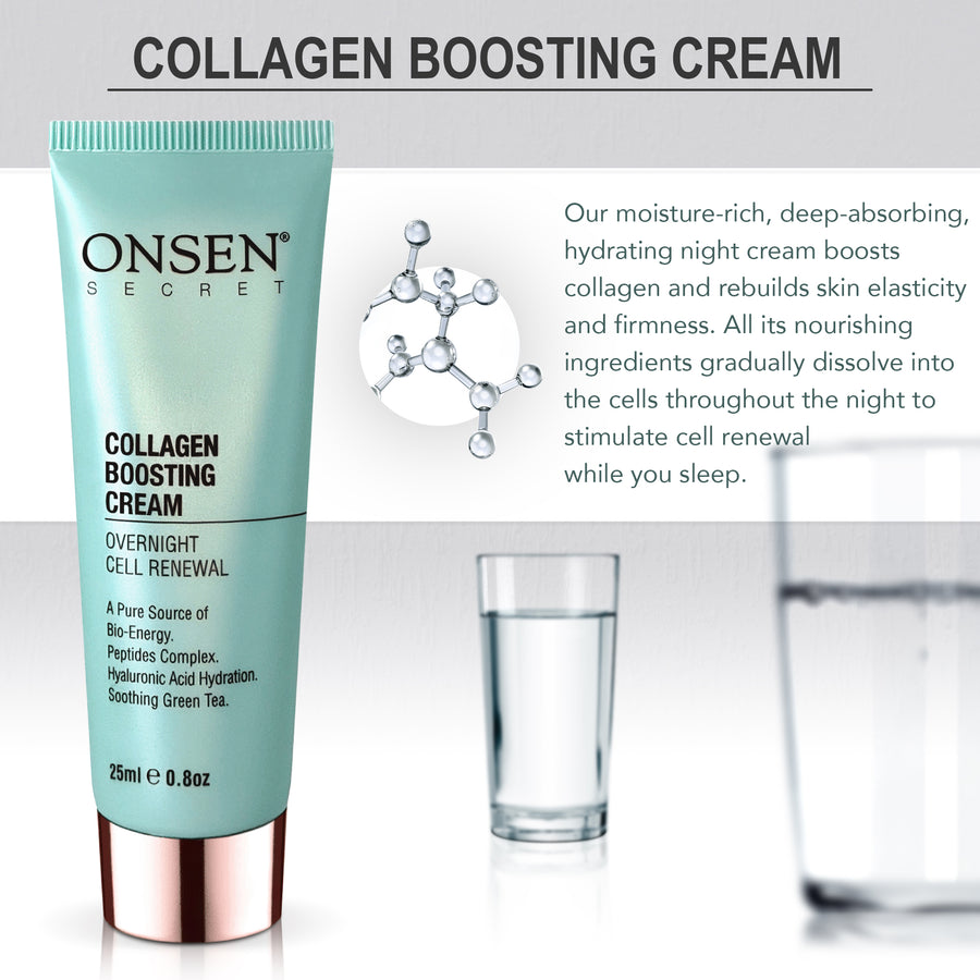 Collagen Boosting Cream - ONSEN  SECRET
