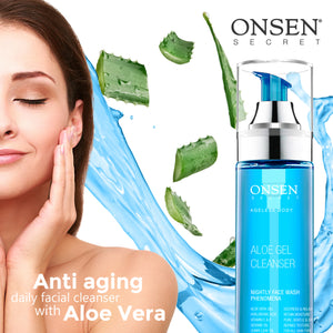 Aloe Gel Cleanser | Trial Kit - ONSEN  SECRET