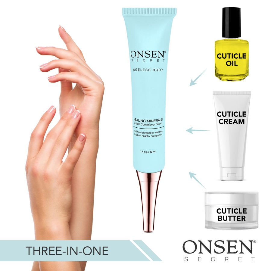 Cuticle Conditioner Serum - ONSEN  SECRET