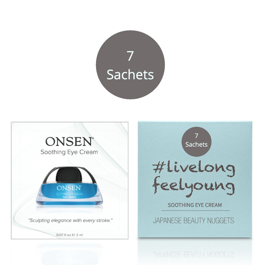 Soothing Eye Cream | Trial Kit - ONSEN  SECRET