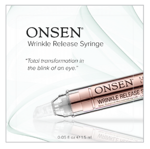 Wrinkle Release Depuff Syringe | Trial Kit - ONSEN  SECRET