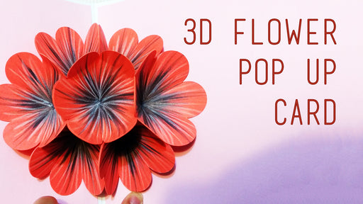 [Tutorial + Template] Flower Pop-Up Card