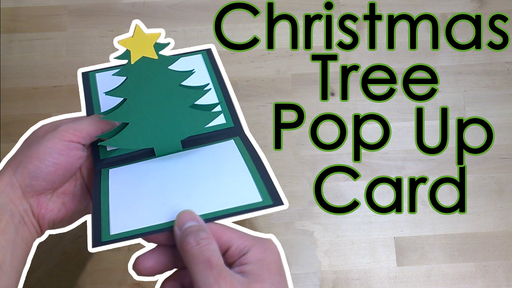 [Tutorial + Template] Christmas Tree Pop Up Greeting Card