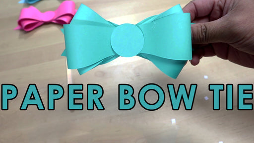 [Tutorial + Template] How To Make Paper Bow Tie