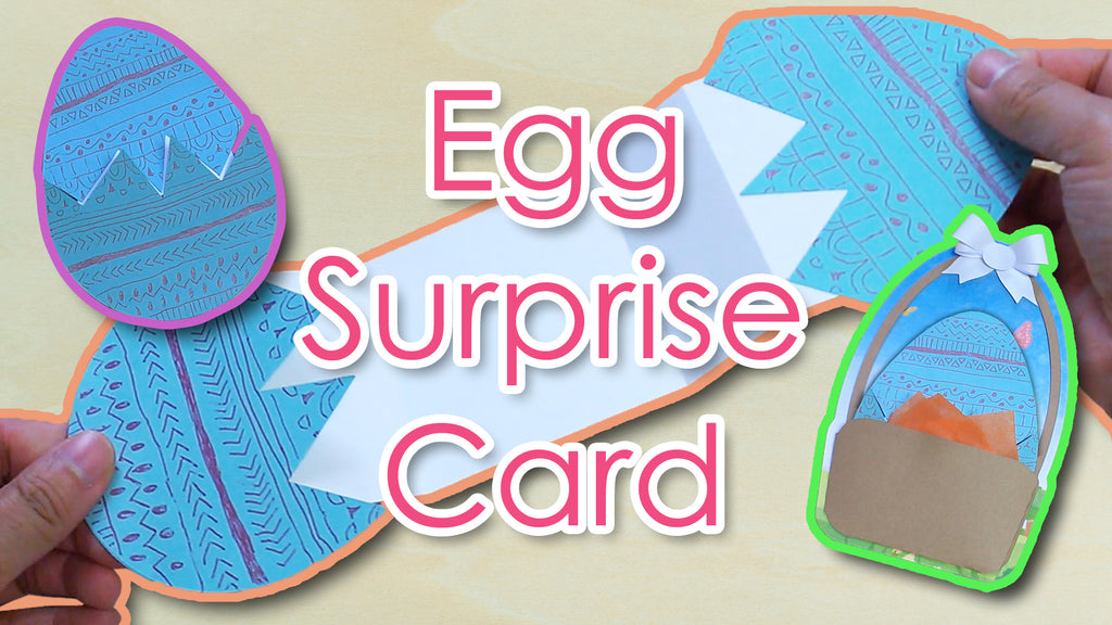 [Tutorial +Template] Easter Egg Surprise Card