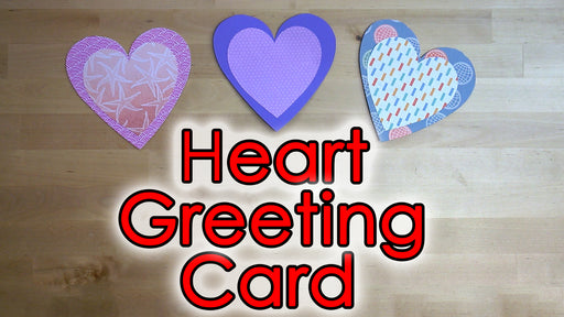 [Tutorial + Template] Heart Greeting Flip Card
