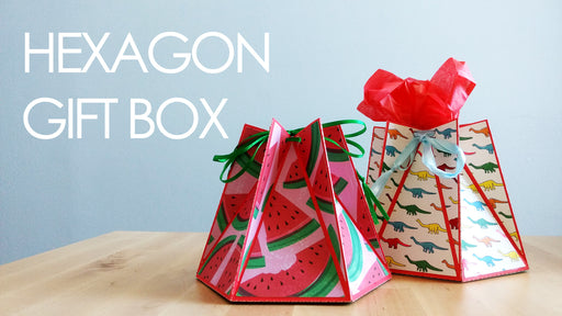 [Tutorial + Template] Hexagon Gift and Favour Box