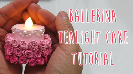 [Tutorial] Make A Ballerina Tea Light Cake!