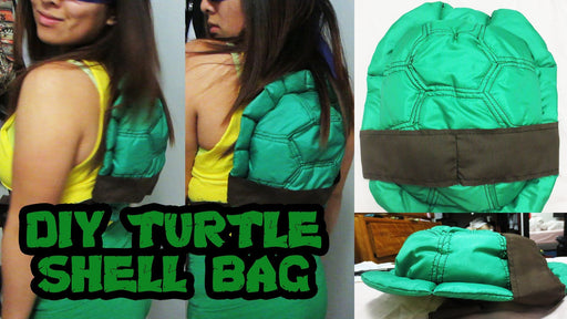 [Tutorial + Template] Teenage Mutant Ninja Turtles Turtle Shell Bag