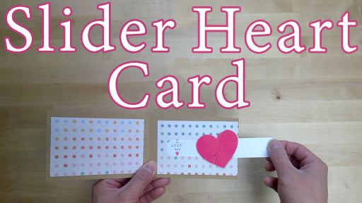 [Tutorial + Template] Slider Heart Card Template and Tutorial