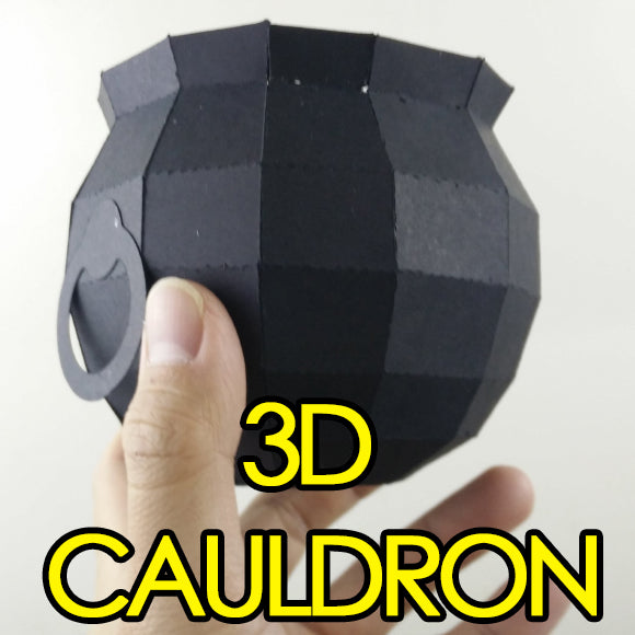 3D Cauldron Template