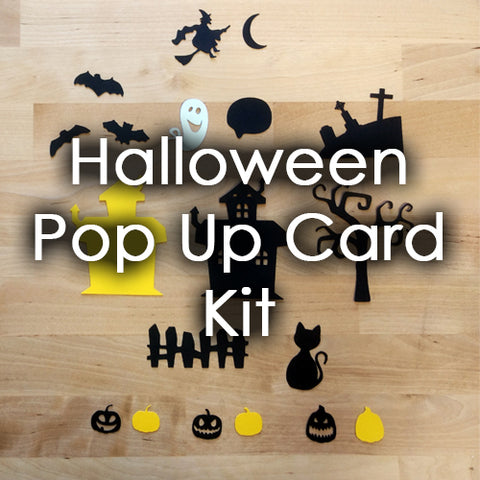 Pop-up Card Kit: Halloween Themed