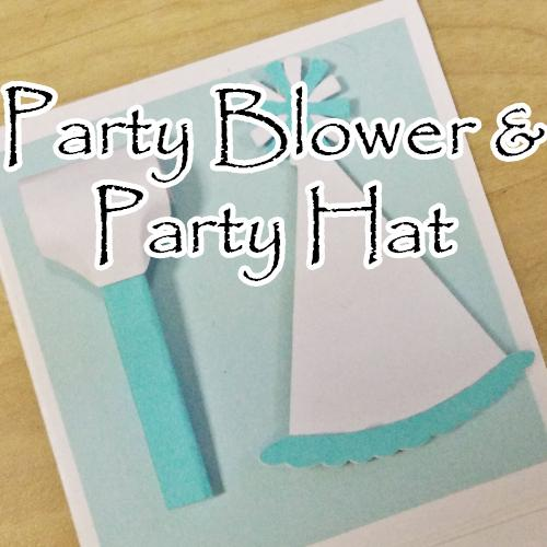 Explosion Box Accessory: Party Hat & Blow Horn