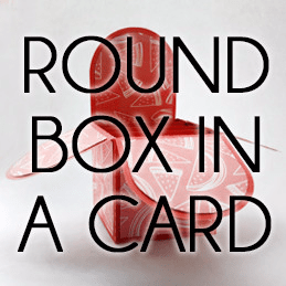Rounded Box in a Card Template