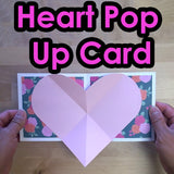 Heart Pop Up Card Template