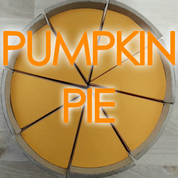 Thanksgiving Paper Pumpkin Pie Template