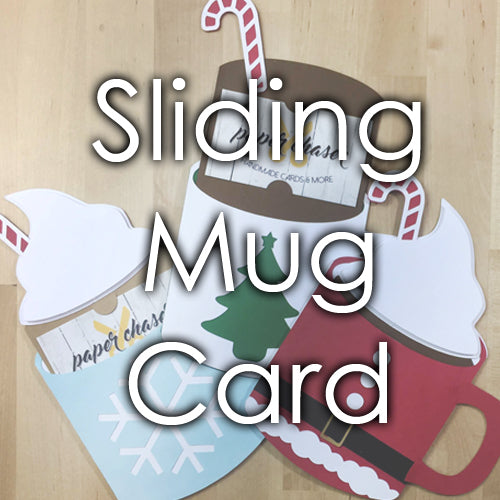 Sliding Mug Card Template