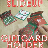 Slide Up Gift Card Holder Template
