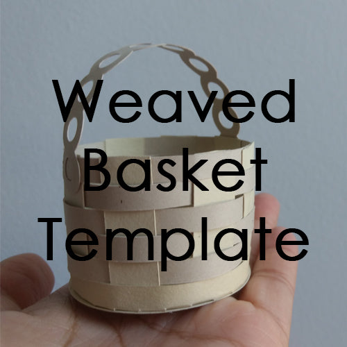 Weaved Basket Template