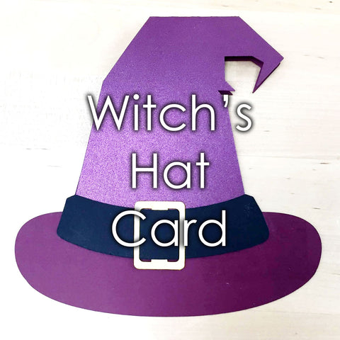 Witch's Hat Card Template