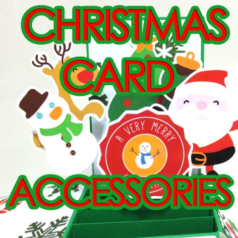 Christmas Gathering Card Accessories