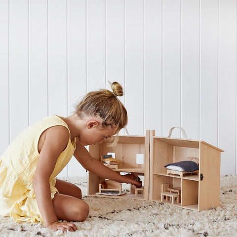Holdie House dolls house by Olliella Olli Ella, available at Torquay Toys