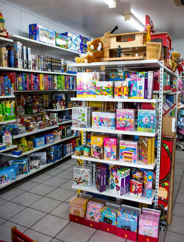 Inside Torquay Toys, photo by Little Black Rabbit Photography