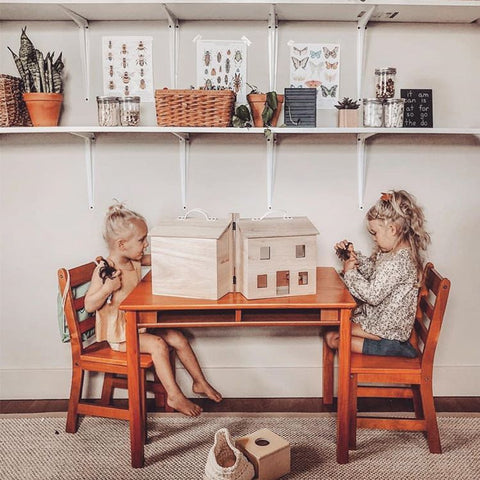 Holdie House dolls house play by Olli Ella, available at Torquay Toys