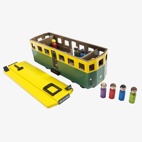 Melbourne Tram Wooden Toys Make Me Iconic