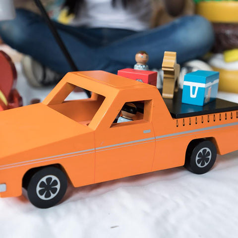 Classic Aussie ute, Make Me Iconic Wooden toy