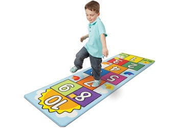 M&D - Hop & count hopscotch rug