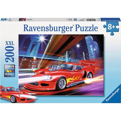 Fast Sports Car 200Pce Puzzle