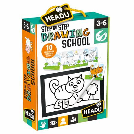 Headu - Step by Step Drawing School