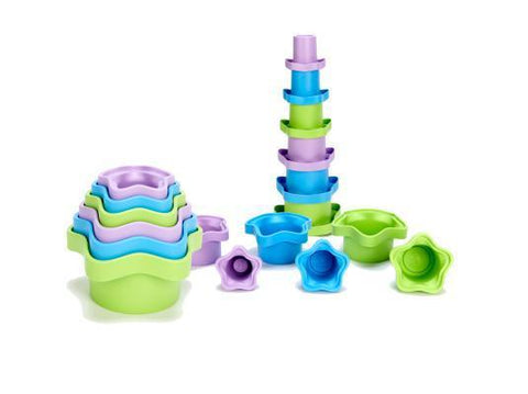 Green Toys - Stacking Cups Set of 6