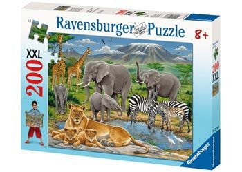 Rburg - Animals in Africa 200pc
