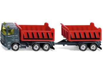 Siku - Truck with Dumper Body and Tipping trailer