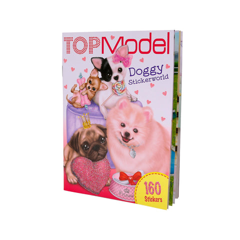 Doggy Pocket Stickerworld Activity Book