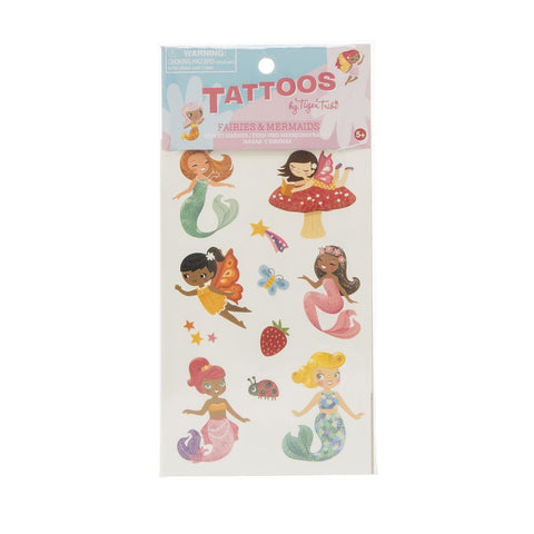 Tiger Tribe Tattoos - Fairies & Mermaids